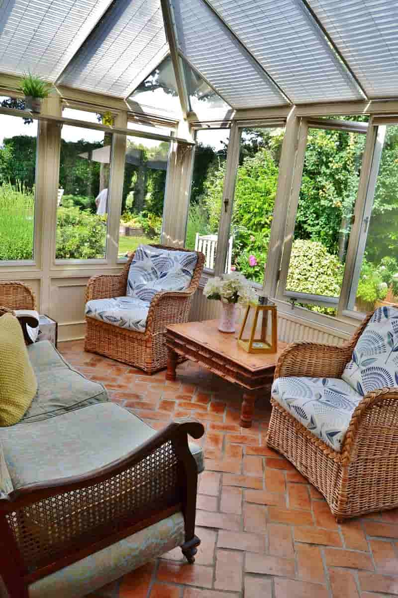 Sunroom at Rose Cottage