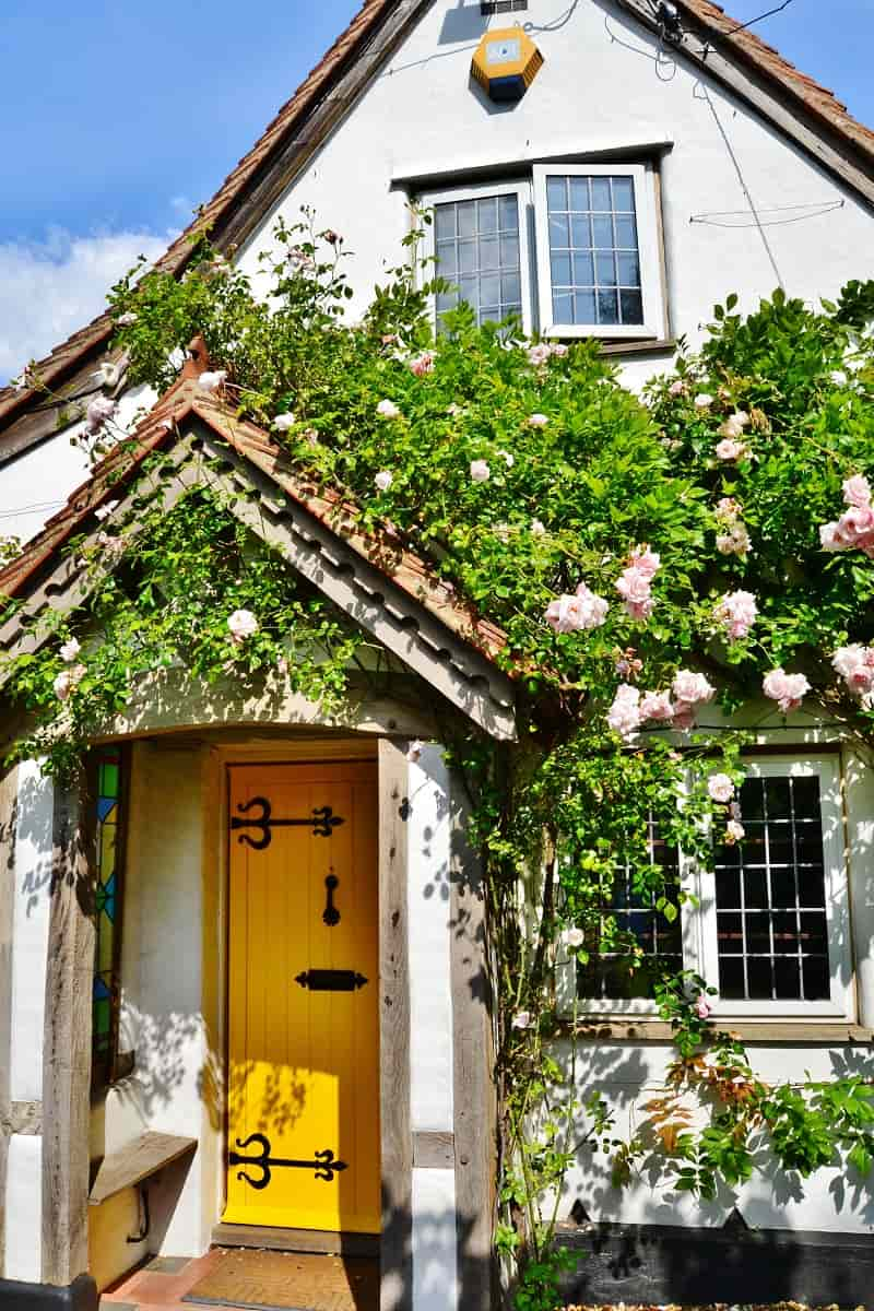 Rose Cottage in Buckinghamshire village.