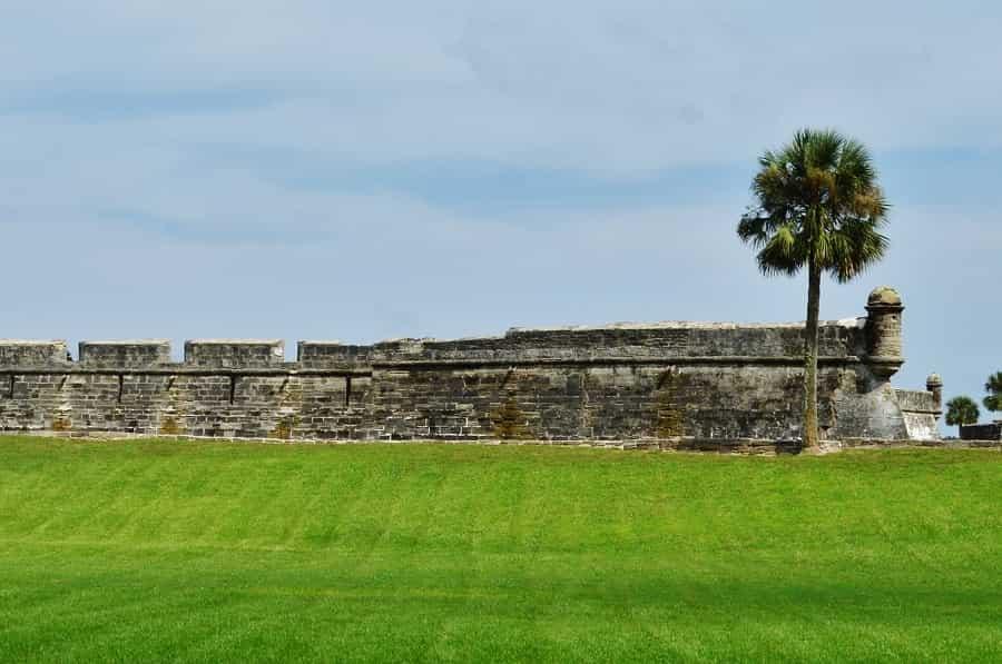 Castillo de San Marcos in St Augustine Florida