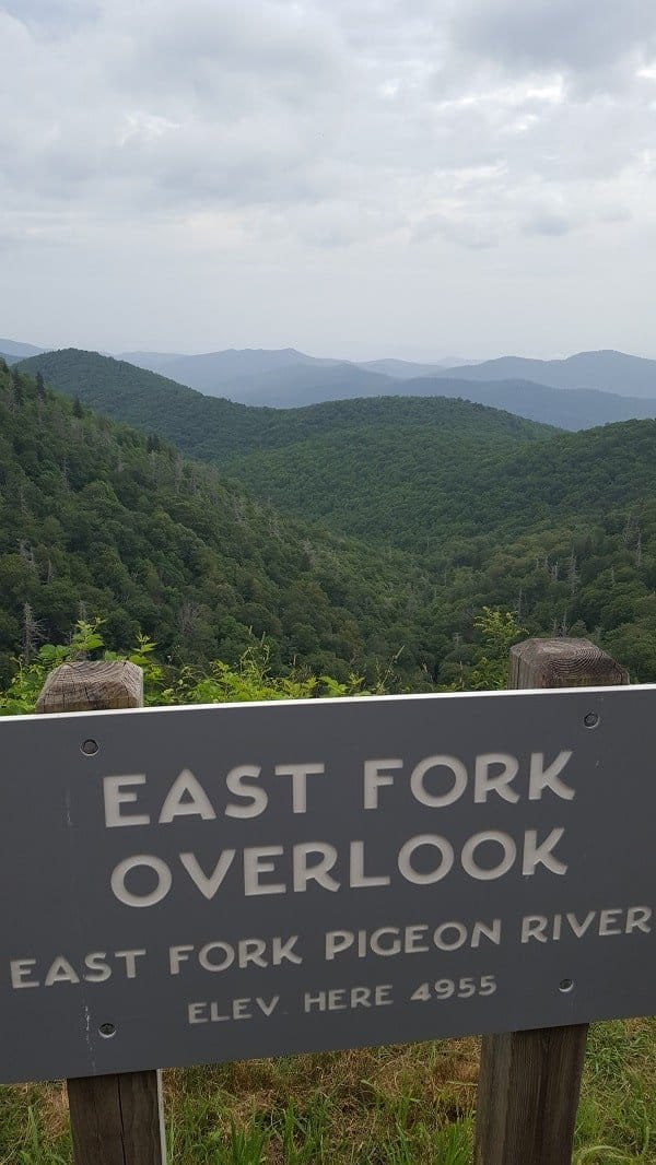 Blue Ridge Mountains Overlook