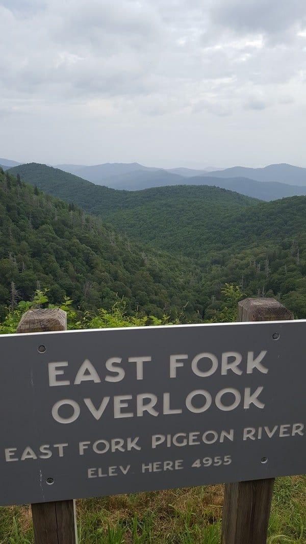 Blue Ridge Mountains Overlook