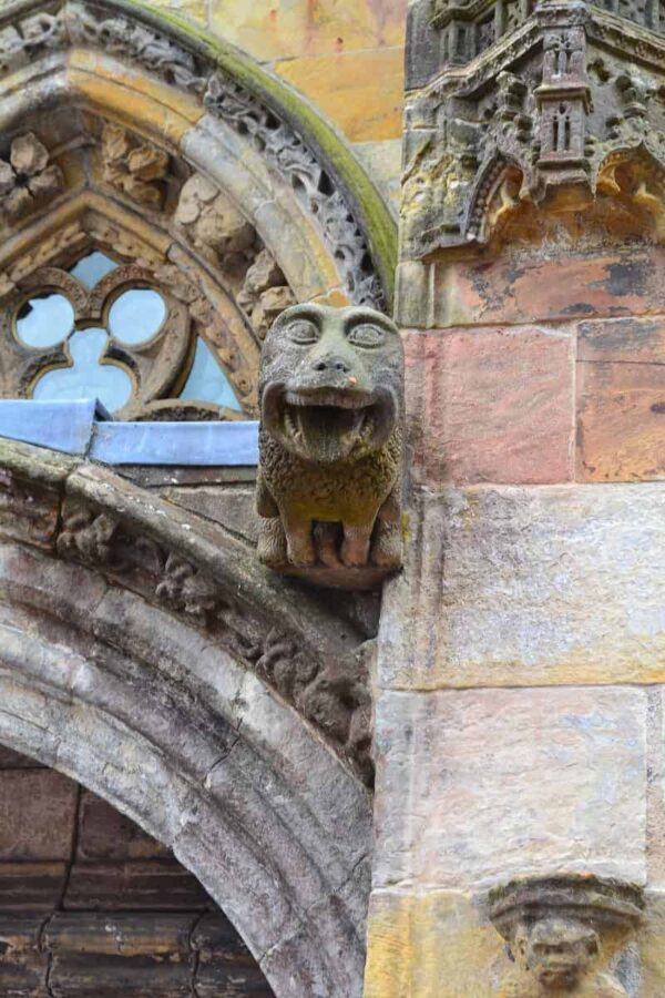Rosslyn Chapel Monkey