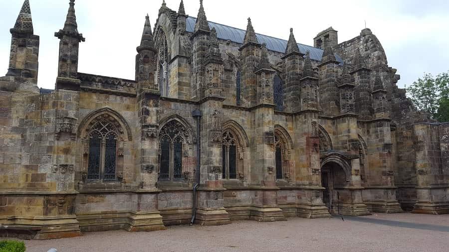 Trip to Rosslyn Chapel in Scotland