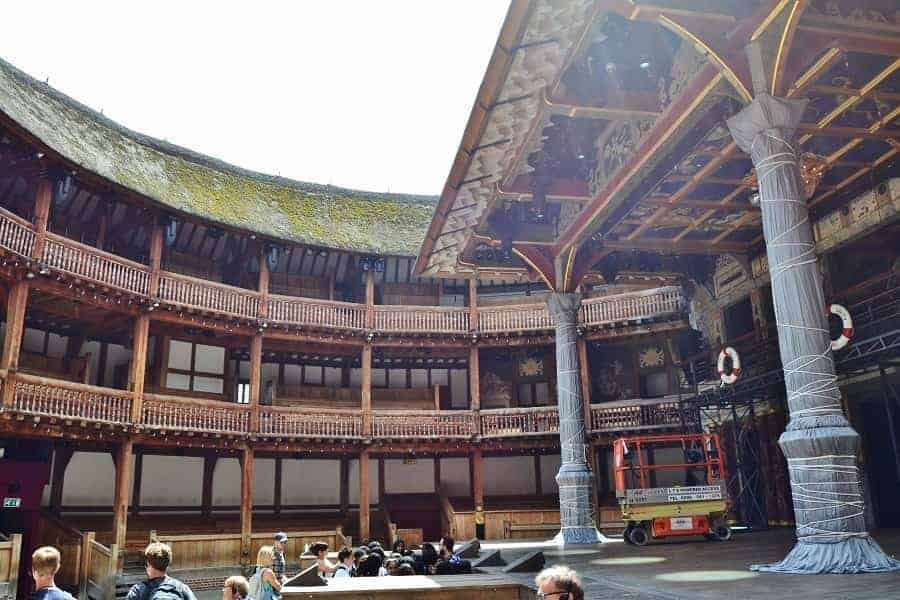 Globe Theater interior
