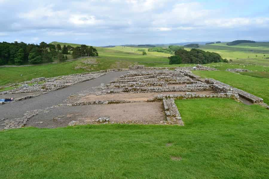 Views from Housestead Roman Fort