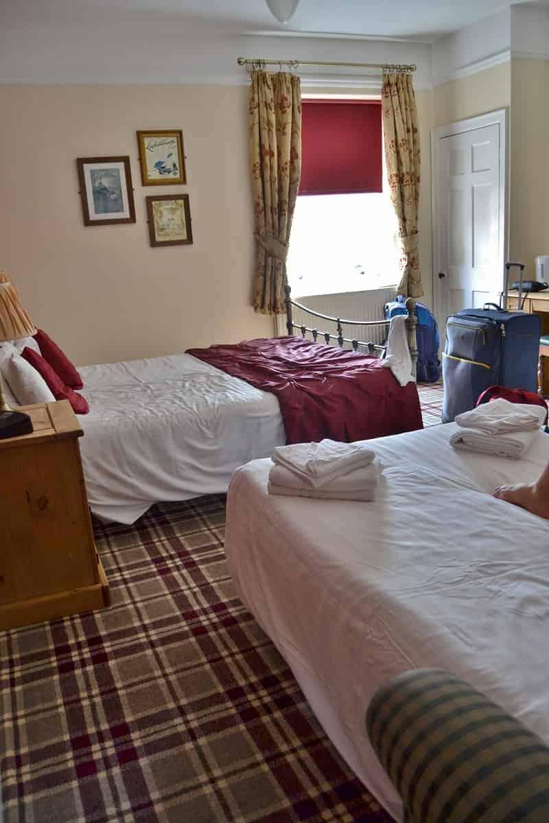Rose & Crown Bed & Breakfast Room