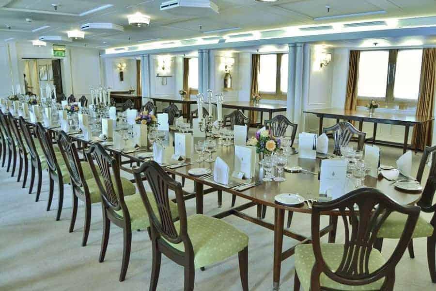 Royal Britannia Royal Dining Room
