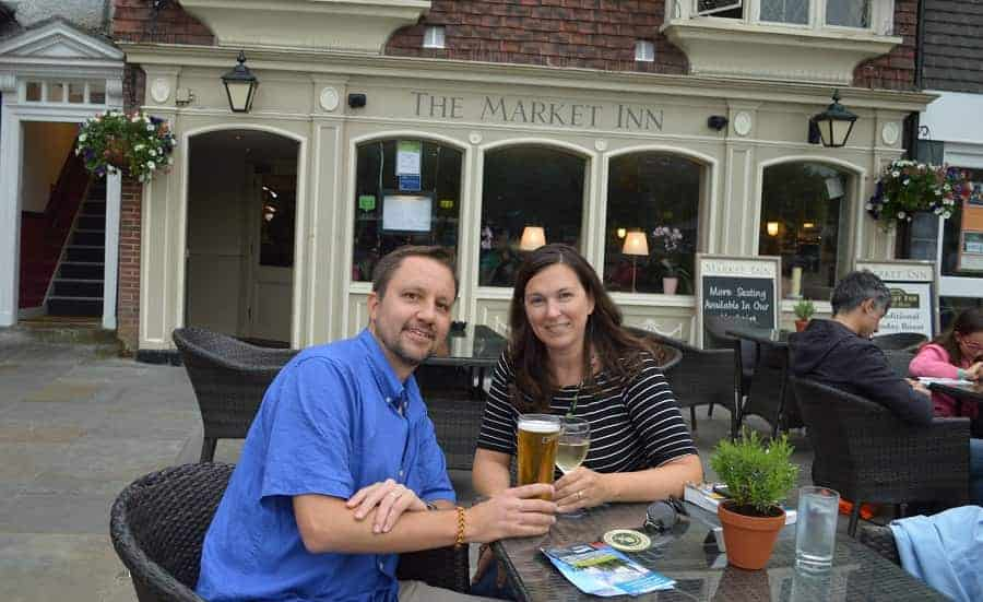 Market Inn Salisbury UK