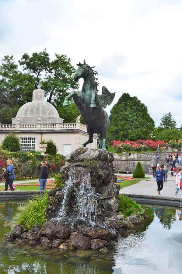 Pegasus Fountain Mirabell Gardens