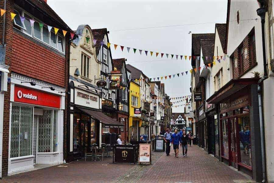 Butcher Row Salisbury UK