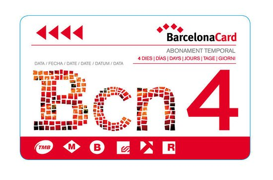 Barcelona Card and Guide Book
