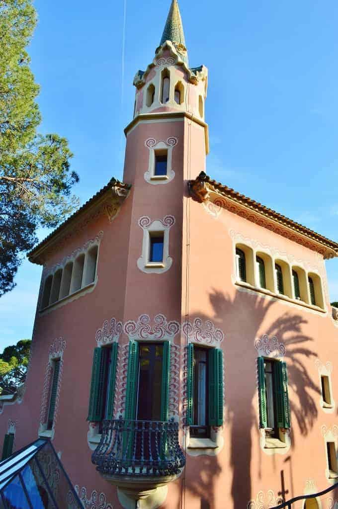 Gaudi Museum House in Barcelona