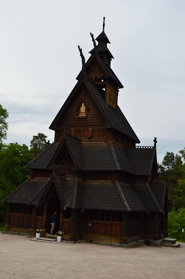 Stave Church Oslo Norway