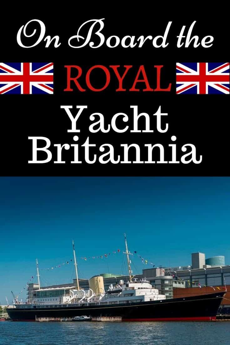 Royal Yacht Britannia in Edinburgh