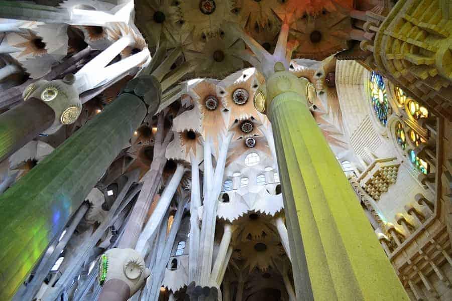 Sagrada Familia Tree-like Columns