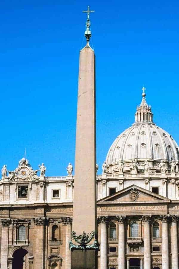 Egyptian Obelisk in St. Peter's Square