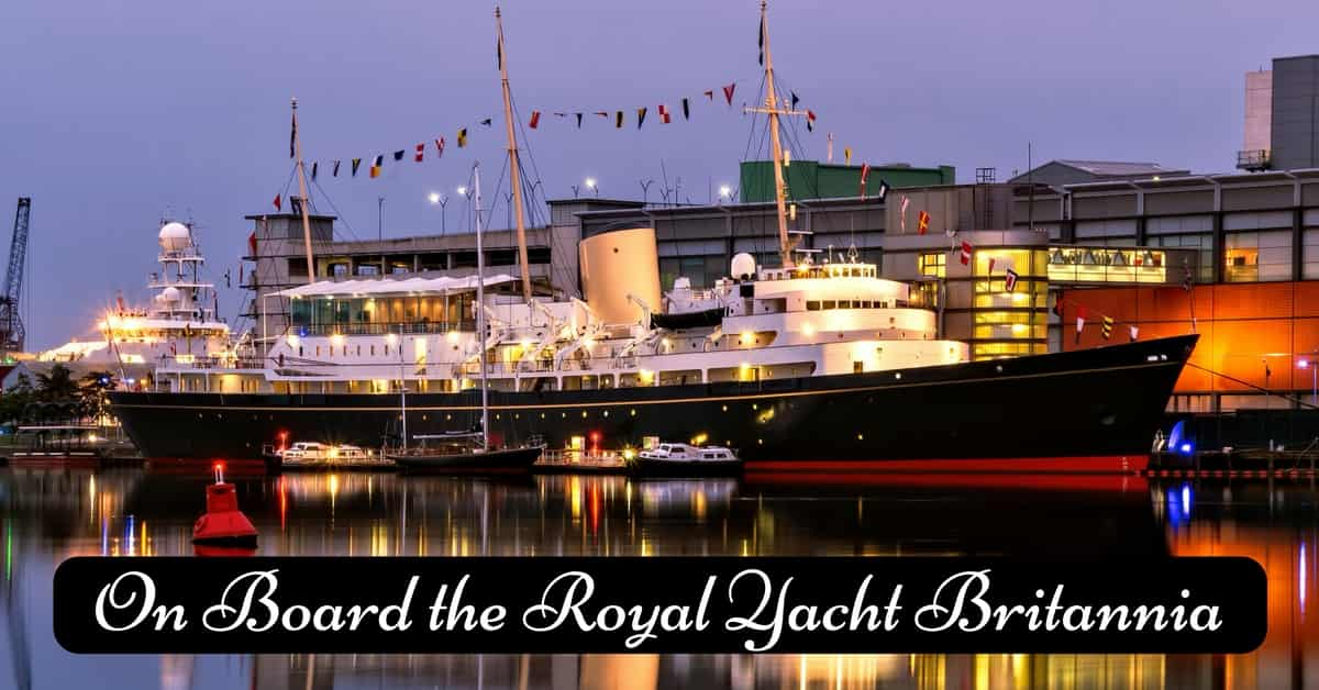 Royal Yacht in Edinburgh