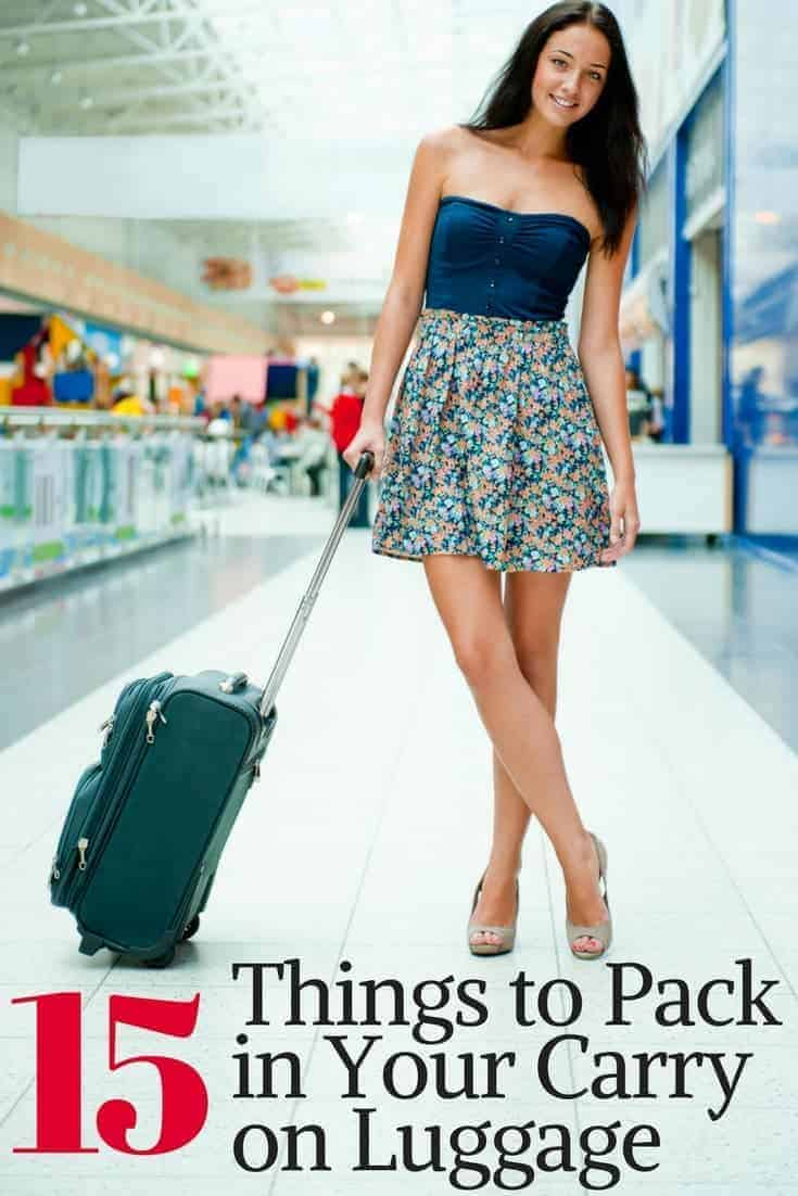 15 Things to Pack in Your Carry on Luggage for a Long Plane Ride