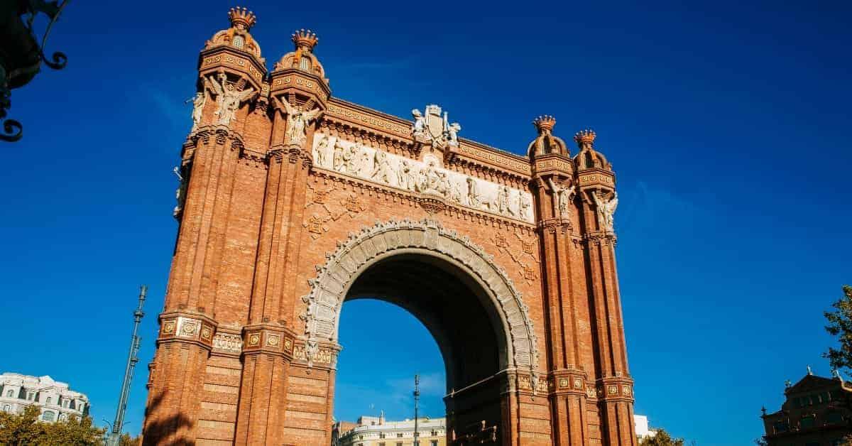 Barcelona's Arc del Triomf
