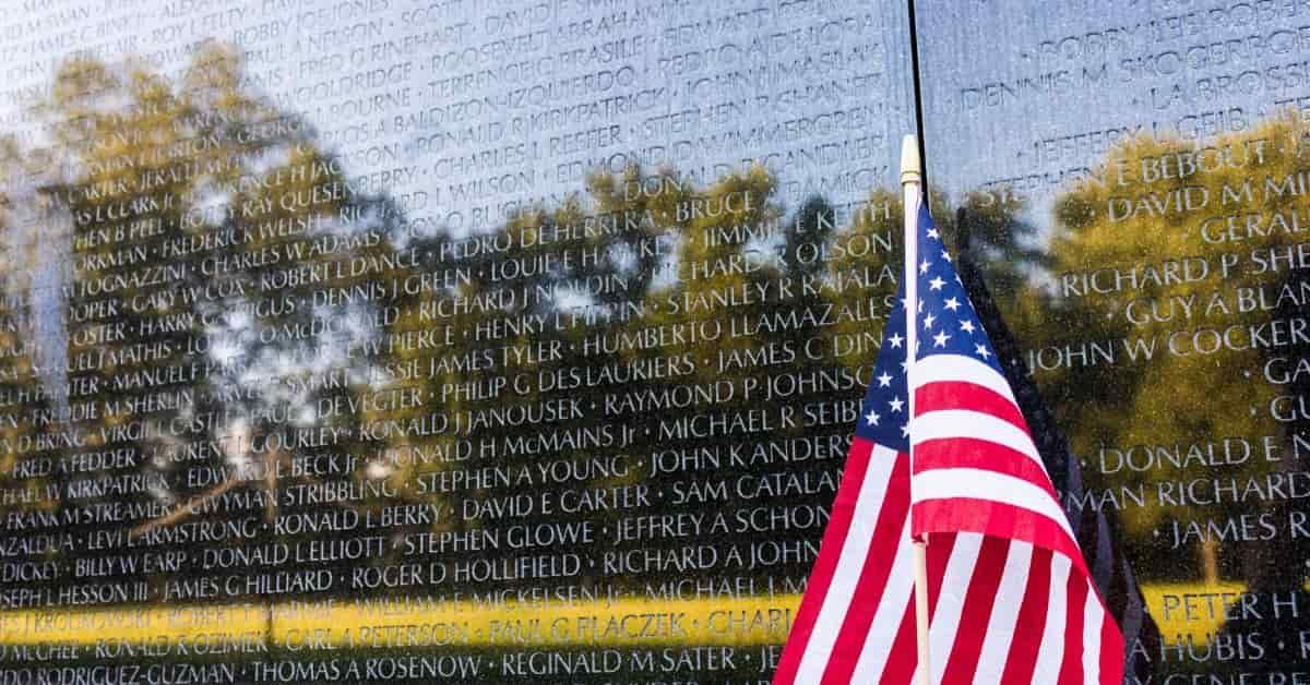 Vietnam Memorial in DC