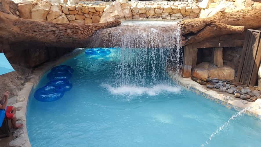 Lazy River at Sea World Aquatica