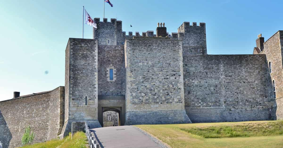 Day Trip to Dover Castle in England