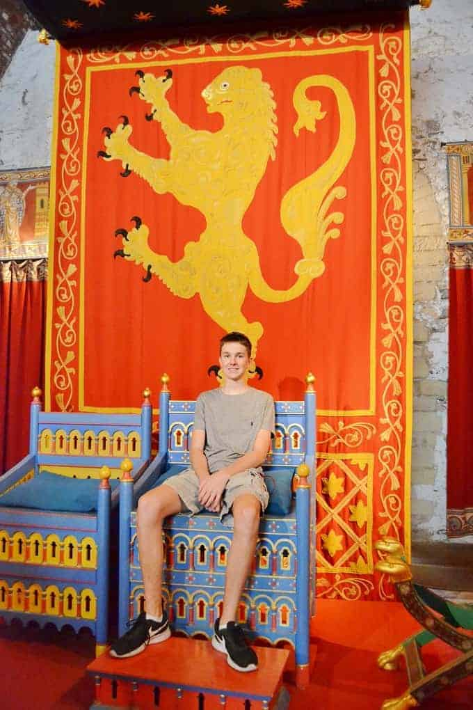 Dover Castle Throne