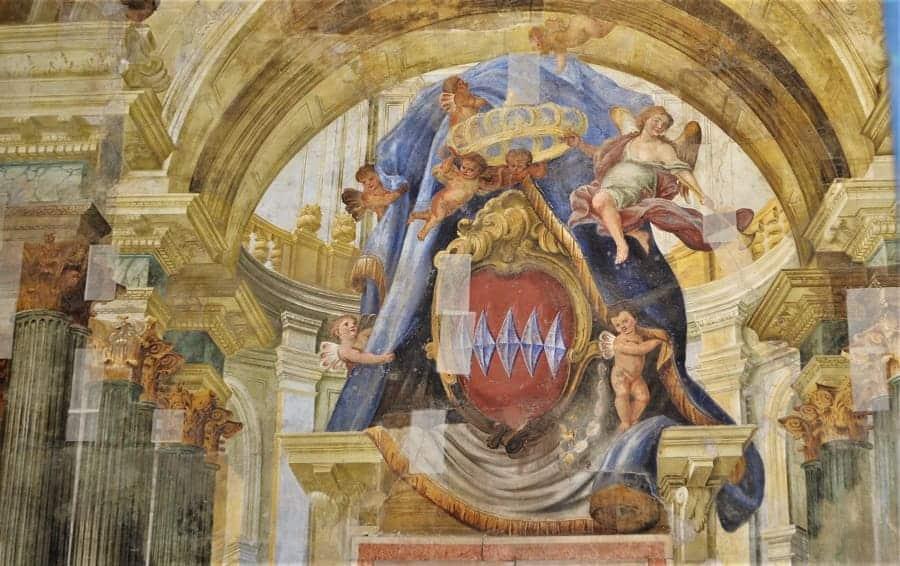 Frescoes in Sorrento