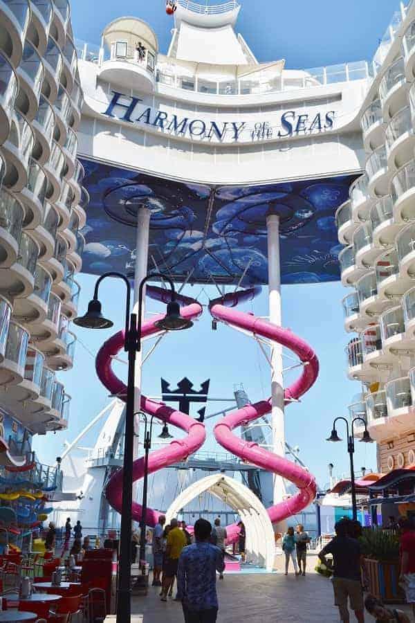 Harmony of the Seas Slide