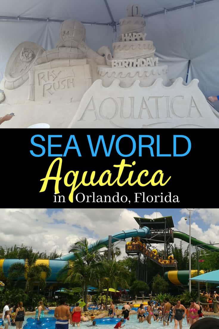 Sea World Aquatica Water Park in Orlando