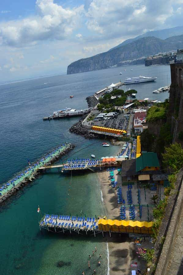 Sun Bathing Platforms for Sorrento Bay of Naples