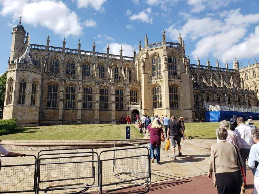 Visiting St. George's Chapel for Evensong