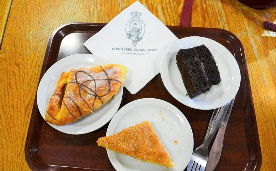 Royal Dairy Farm coffee shop treats