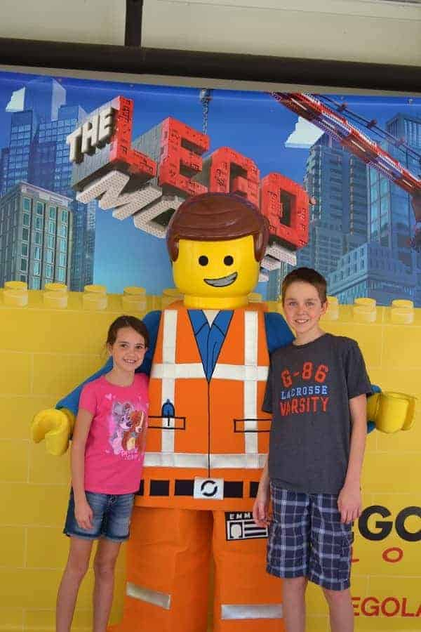 Meet Lego Movie characters at Legoland