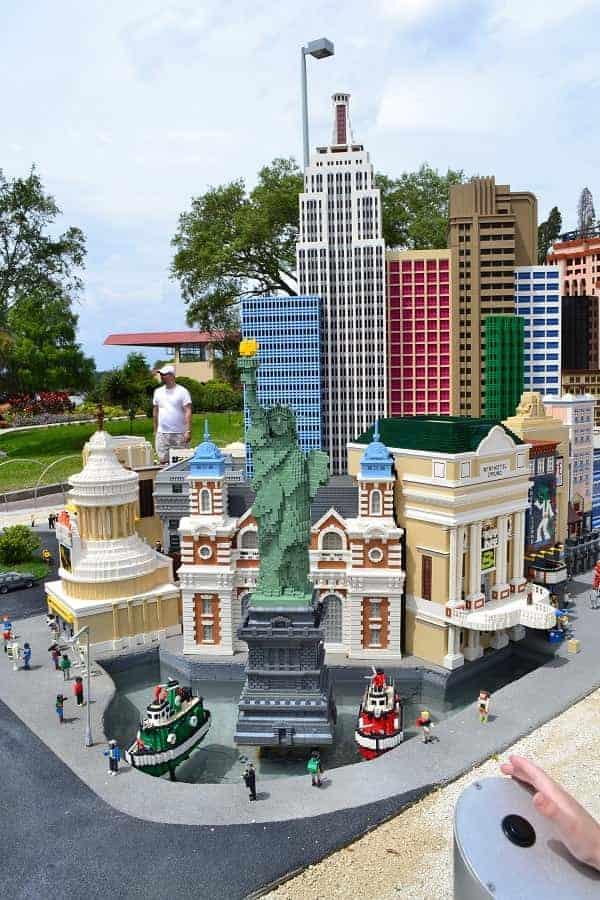 Legoland NYC Display
