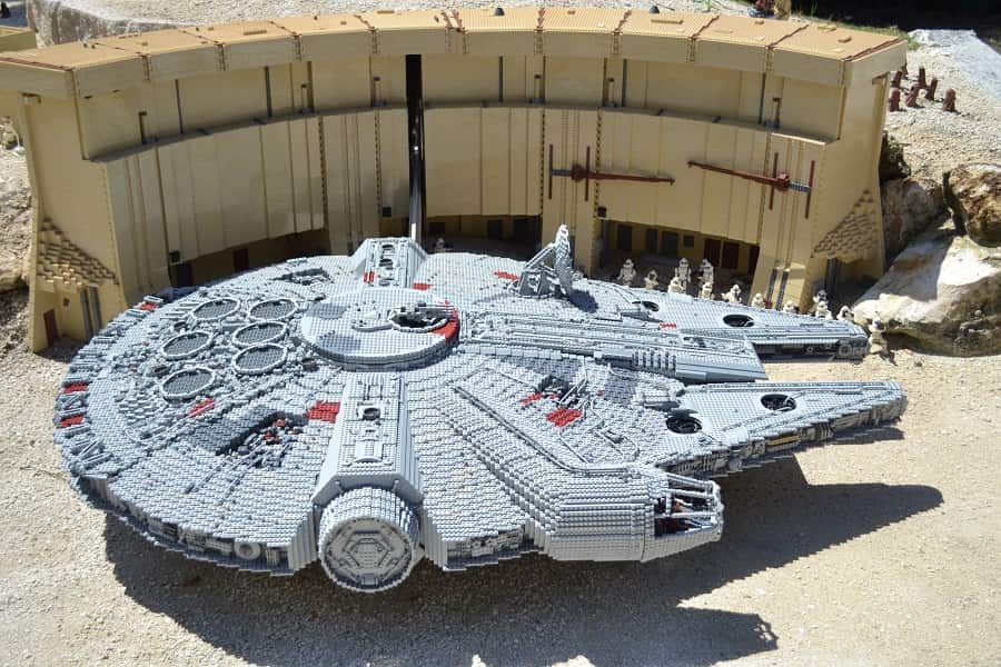 Star Wars Legos in Legoland