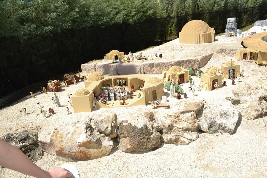 Legoland Star Wars Section