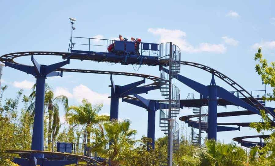 Legoland Technic roller coaster