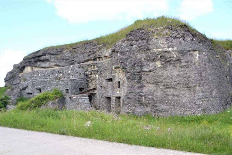 Fort de Vaux WWI Site in Verdun France