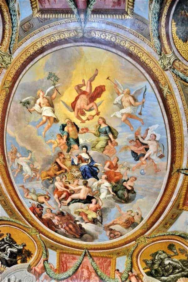 Ceiling at Hampton Court