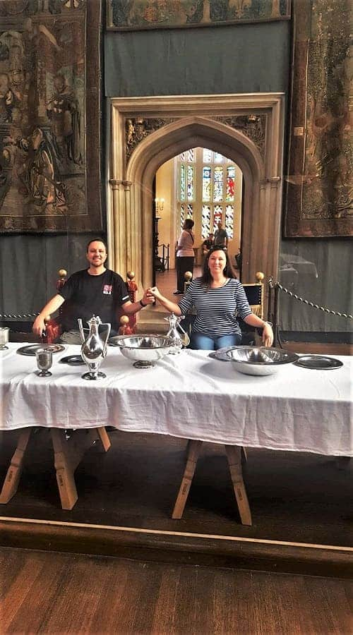Hampton Court Great Hall Table