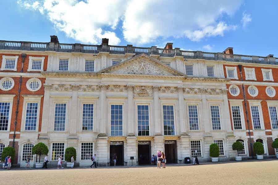 Back of Hampton Court Palace