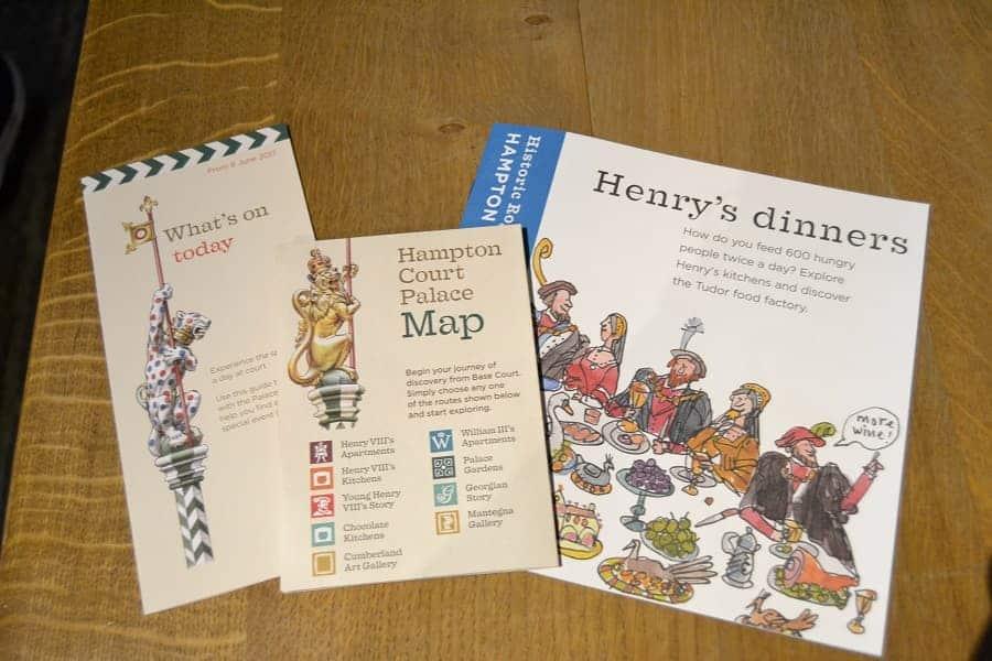 Hampton Court Palace Pamphlets