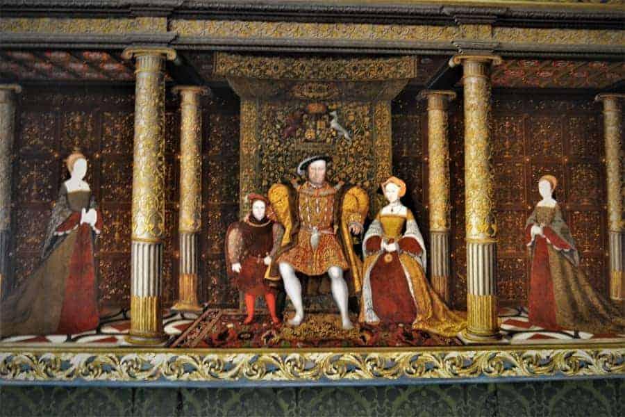 Royal Portrait at Hampton Court Palace