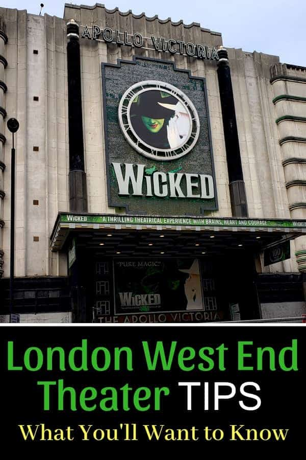 London West End Theater Tips