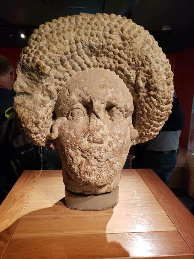 Roman Bath Artifacts