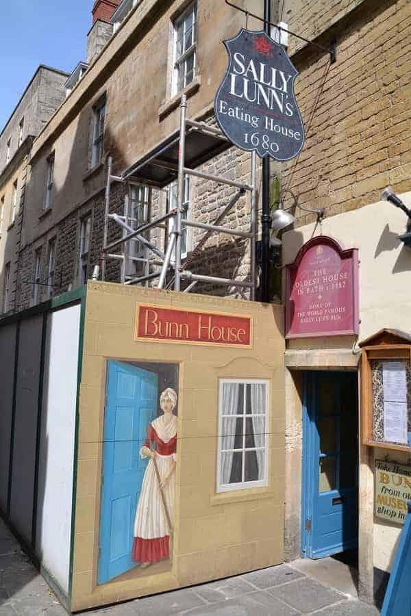 Sally Lunn Eating House in Bath