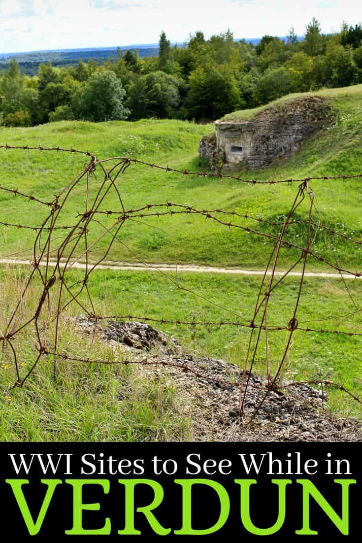 WWI Memorials in Verdun France to Visit