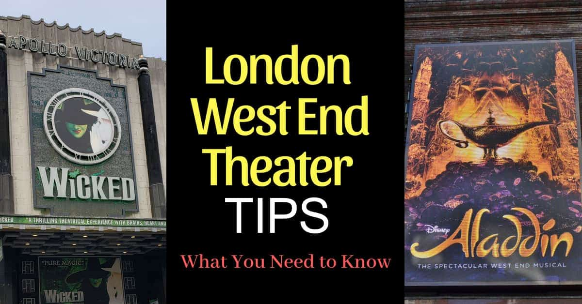 Tips for London West End Shows