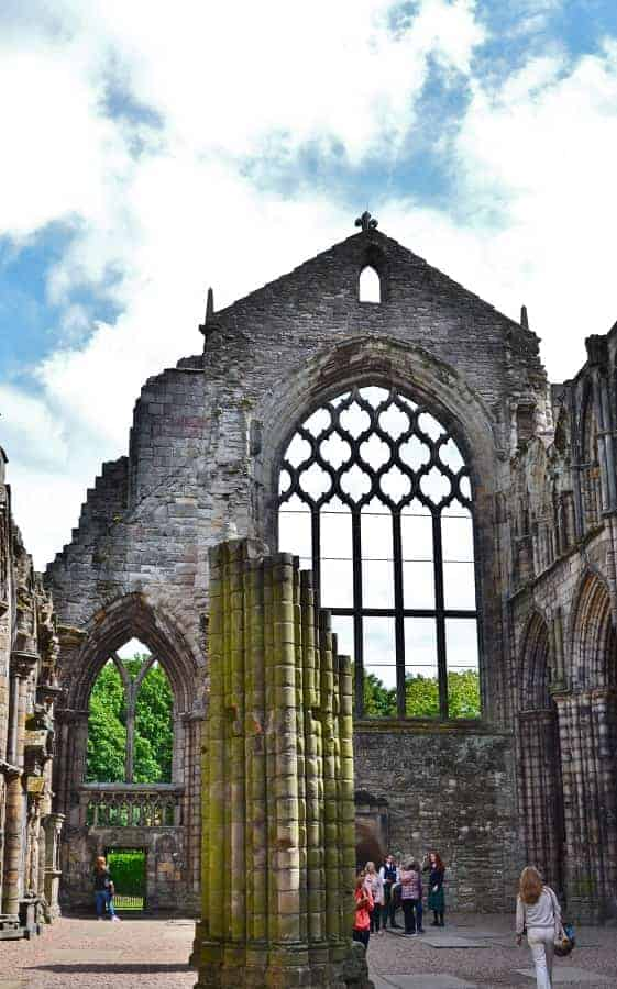 Holyrood Abbey in Scotland